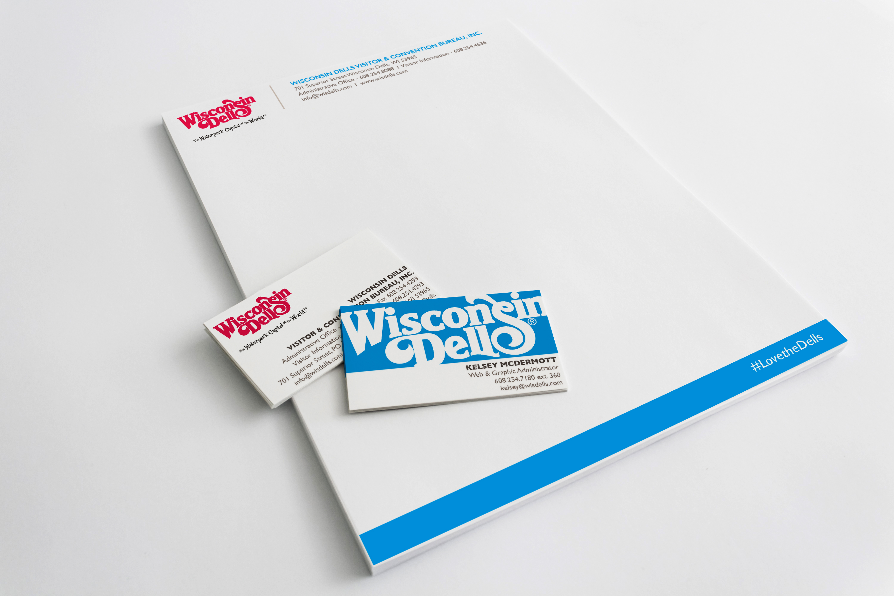 WDVCB Business Cards & Letterhead « Kelsey McDermott